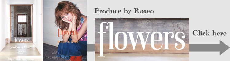 hair roseo flowers